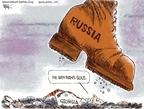 Cartoonist Chip Bok  Chip Bok's Editorial Cartoons 2008-08-13 Georgia Russia