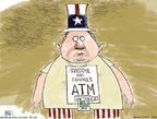 Cartoonist Chip Bok  Chip Bok's Editorial Cartoons 2008-09-09 estate tax