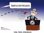 Cartoonist Chip Bok  Chip Bok's Editorial Cartoons 2009-01-19 fail
