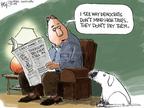 Cartoonist Chip Bok  Chip Bok's Editorial Cartoons 2009-02-05 them