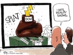 Cartoonist Chip Bok  Chip Bok's Editorial Cartoons 2009-02-11 glove