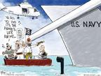 Cartoonist Chip Bok  Chip Bok's Editorial Cartoons 2009-04-10 shut