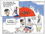 Cartoonist Chip Bok  Chip Bok's Editorial Cartoons 2009-04-16 Cuba