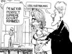 Cartoonist Chip Bok  Chip Bok's Editorial Cartoons 2009-05-08 perfect