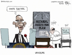 Cartoonist Chip Bok  Chip Bok's Editorial Cartoons 2009-06-22 distraction