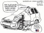 Cartoonist Chip Bok  Chip Bok's Editorial Cartoons 2009-06-26 apology