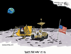 Cartoonist Chip Bok  Chip Bok's Editorial Cartoons 2009-07-20 tribute