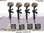 Cartoonist Chip Bok  Chip Bok's Editorial Cartoons 2009-09-12 artillery