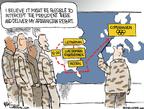 Cartoonist Chip Bok  Chip Bok's Editorial Cartoons 2009-09-28 military strategy
