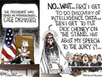 Cartoonist Chip Bok  Chip Bok's Editorial Cartoons 2009-11-19 courtroom