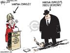 Cartoonist Chip Bok  Chip Bok's Editorial Cartoons 2010-01-15 Massachusetts