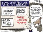Cartoonist Chip Bok  Chip Bok's Editorial Cartoons 2010-03-18 partisan politics