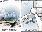 Cartoonist Chip Bok  Chip Bok's Editorial Cartoons 2010-05-10 environmental