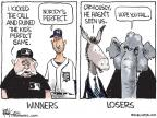 Cartoonist Chip Bok  Chip Bok's Editorial Cartoons 2010-06-05 baseball