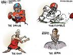 Cartoonist Chip Bok  Chip Bok's Editorial Cartoons 2010-07-10 professional sport