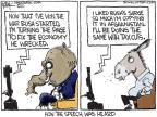 Cartoonist Chip Bok  Chip Bok's Editorial Cartoons 2010-09-03 George W. Bush