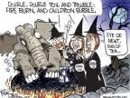 Cartoonist Chip Bok  Chip Bok's Editorial Cartoons 2010-09-22 trouble