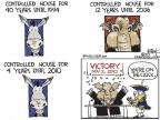 Cartoonist Chip Bok  Chip Bok's Editorial Cartoons 2010-11-04 victory