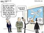 Cartoonist Chip Bok  Chip Bok's Editorial Cartoons 2010-12-14 federal court