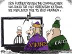 Cartoonist Chip Bok  Chip Bok's Editorial Cartoons 2010-12-27 football game