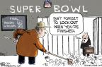 Cartoonist Chip Bok  Chip Bok's Editorial Cartoons 2011-02-08 stadium