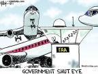 Cartoonist Chip Bok  Chip Bok's Editorial Cartoons 2011-04-13 shut