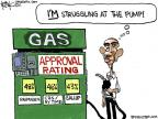 Cartoonist Chip Bok  Chip Bok's Editorial Cartoons 2011-04-30 gas price