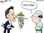 Cartoonist Chip Bok  Chip Bok's Editorial Cartoons 2011-05-12 health care reform