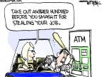 Cartoonist Chip Bok  Chip Bok's Editorial Cartoons 2011-06-20 economy