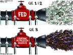 Cartoonist Chip Bok  Chip Bok's Editorial Cartoons 2011-06-24 gas price
