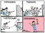 Cartoonist Chip Bok  Chip Bok's Editorial Cartoons 2011-07-18 World Cup