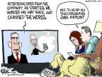 Cartoonist Chip Bok  Chip Bok's Editorial Cartoons 2011-08-25 Steve
