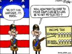 Cartoonist Chip Bok  Chip Bok's Editorial Cartoons 2011-09-21 taxpayer