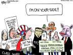 Cartoonist Chip Bok  Chip Bok's Editorial Cartoons 2011-10-18 side