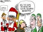 Chip Bok  Chip Bok's Editorial Cartoons 2011-12-21 Mitch McConnell