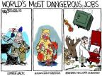 Cartoonist Chip Bok  Chip Bok's Editorial Cartoons 2012-02-20 nuclear weapon