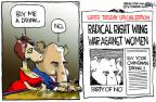 Cartoonist Chip Bok  Chip Bok's Editorial Cartoons 2012-03-02 wing