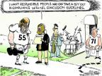 Cartoonist Chip Bok  Chip Bok's Editorial Cartoons 2012-03-14 football game