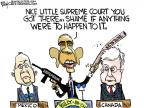 Cartoonist Chip Bok  Chip Bok's Editorial Cartoons 2012-04-04 guns and drugs