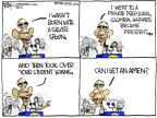 Cartoonist Chip Bok  Chip Bok's Editorial Cartoons 2012-04-25 college education