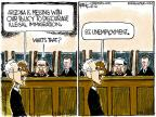 Cartoonist Chip Bok  Chip Bok's Editorial Cartoons 2012-04-26 federal court