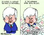 Cartoonist Chip Bok  Chip Bok's Editorial Cartoons 2012-05-05 2012 primary