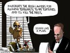 Cartoonist Chip Bok  Chip Bok's Editorial Cartoons 2012-06-01 George W. Bush