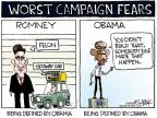 Cartoonist Chip Bok  Chip Bok's Editorial Cartoons 2012-07-18 getaway