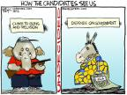 Cartoonist Chip Bok  Chip Bok's Editorial Cartoons 2012-09-18 2012 election religion