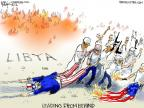 Cartoonist Chip Bok  Chip Bok's Editorial Cartoons 2012-09-20 flag