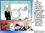 Cartoonist Chip Bok  Chip Bok's Editorial Cartoons 2012-10-01 nuclear bomb