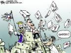 Cartoonist Chip Bok  Chip Bok's Editorial Cartoons 2012-10-19 2012 election
