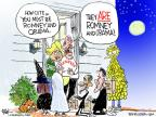 Cartoonist Chip Bok  Chip Bok's Editorial Cartoons 2012-10-26 2012 election