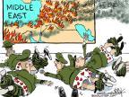 Cartoonist Chip Bok  Chip Bok's Editorial Cartoons 2012-11-16 armed forces